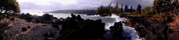 Shoreline at Keanae
